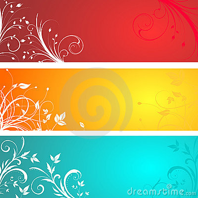 Free Floral Panels Stock Photography - 5063222