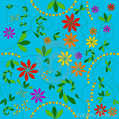Free Floral Pattern Stock Image - 121481