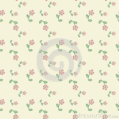 Free Floral Pattern Royalty Free Stock Photos - 27684978