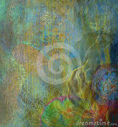 Free Floral Pattern Wallpaper Stock Photo - 24365070