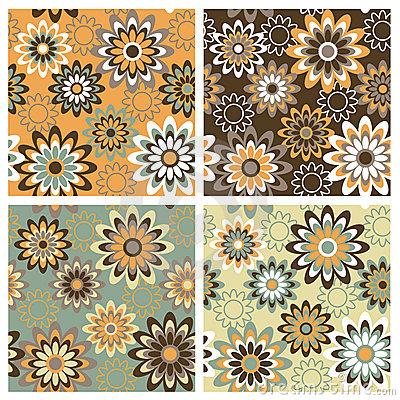 Free Floral Pattern_Autumn Stock Images - 3022494