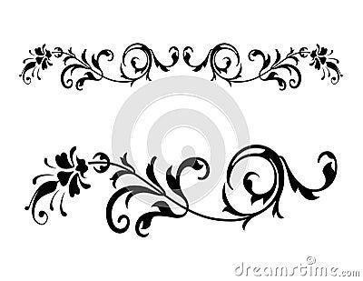 Floral Renaissance Vector 2