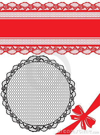 Floral seamless lace pattern with flowers.