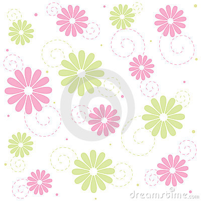 Free Floral Seamless Pattern Stock Images - 4777374