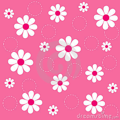 Free Floral Seamless Pattern Stock Image - 8032711