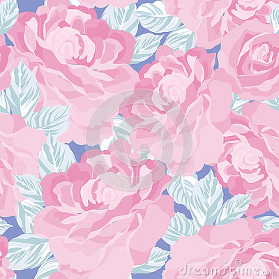 Free Floral Seamless Pattern. Flower Background. Floral Tile Ornament Royalty Free Stock Photo - 78953255