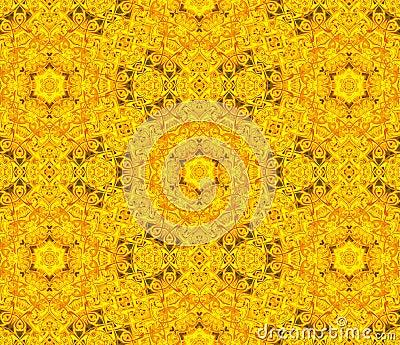 Floral symmetric design.