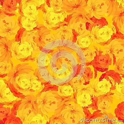 Floral tile, seamless