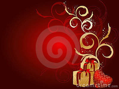 Floral vector Holiday s background