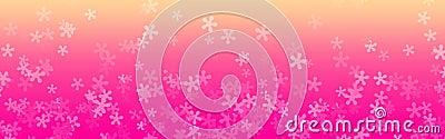 Floral web Header, Flower background