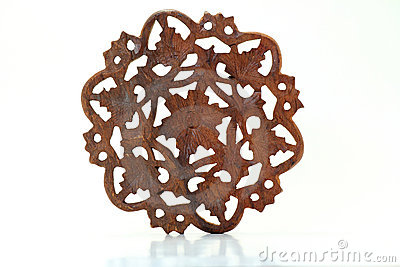 Floral Wood Carving