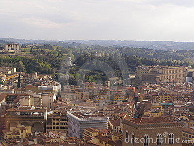 Florence aerial view