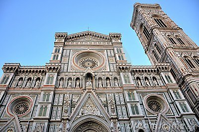 Florence city center landmark,  Italy