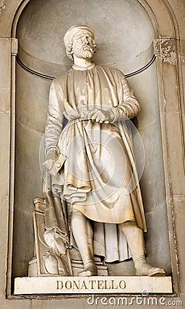 Florence - Donatello  statue