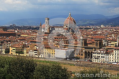Florence with Duomo
