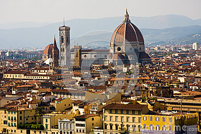 Florence, Duomo and cityscape