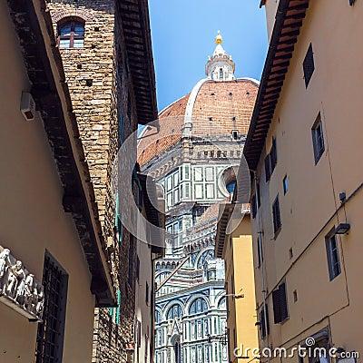 Free Florence Duomo Santa Maria Del Fiore Royalty Free Stock Photos - 78526188