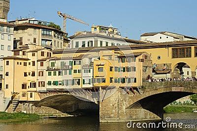 Florence, the famous bridge