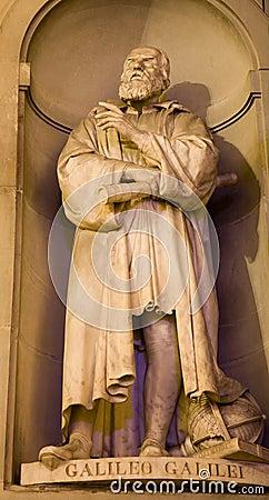 Florence - Galileo Galilei statue