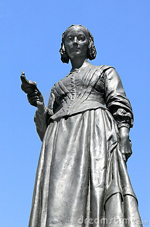 Free Florence Nightingale Statue Royalty Free Stock Images - 15161049