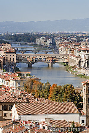 Florence river Arno