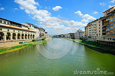 Florence River Landscape Stock Photography - Image: 26542372