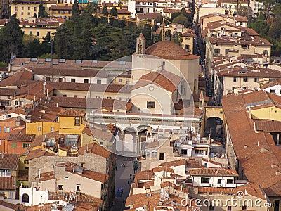 Florence - Santissima Annunziata church
