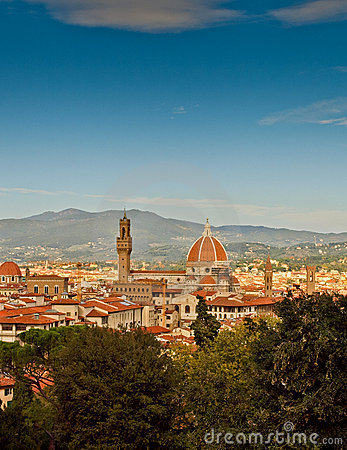 Florence scenic, Italy