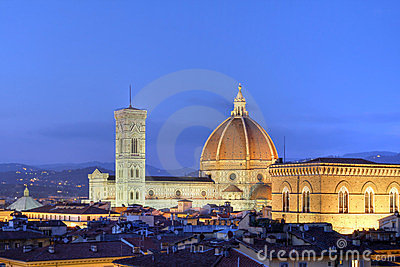 Florence skyline, Italy