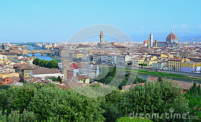 Florence Skyline - Italy