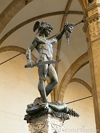 Florence - statue of Perseus