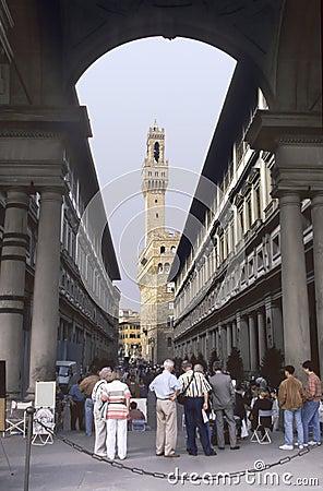 Free Florence Uffizi Stock Image - 967161