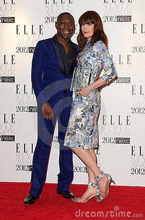 Florence Welch, Dizzee Rascal Editorial Image