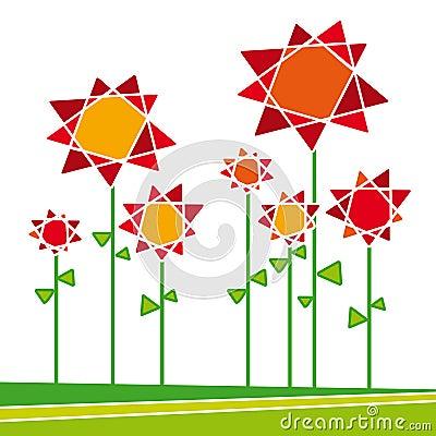 Flores 01 (vector)