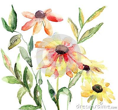 Flores hermosas