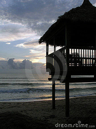 Florida beach hut