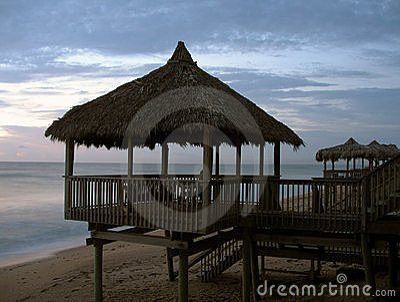 Florida beach hut