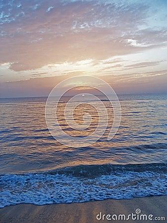 Free Florida East Coast Beach At Dawn 6 Royalty Free Stock Photography - 6076807