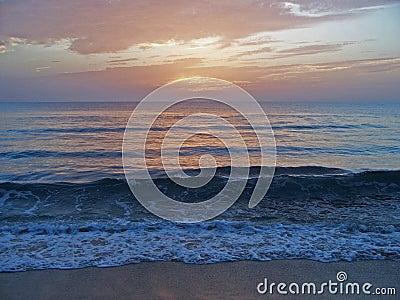 Florida East Coast Beach at Dawn 4