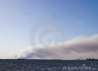 Florida on Fire Editorial Stock Image