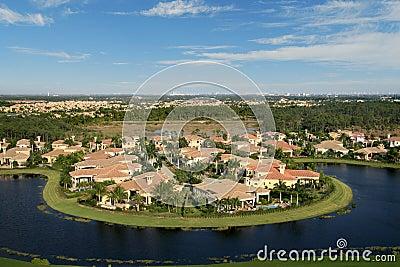 Florida Neighborhood Flyover