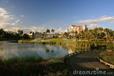 Florida resort golf