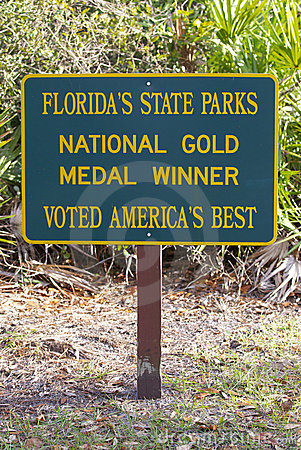Florida s State Parks Editorial Image