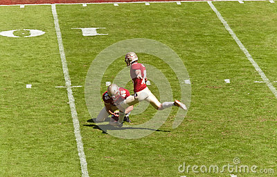 Florida State Kicker Editorial Image