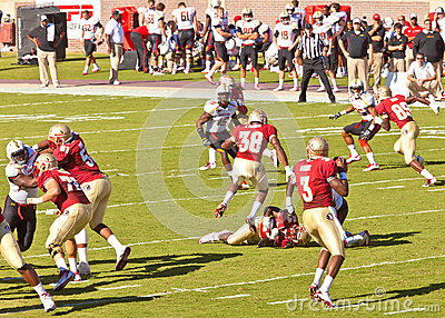 Florida State vs Maryland Football Game Editorial Photography