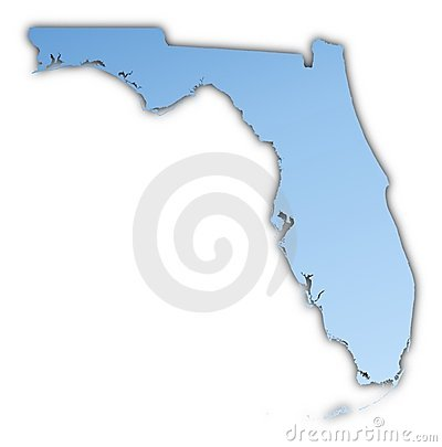 Florida(USA) map