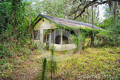 Florida velho abandonado para casa