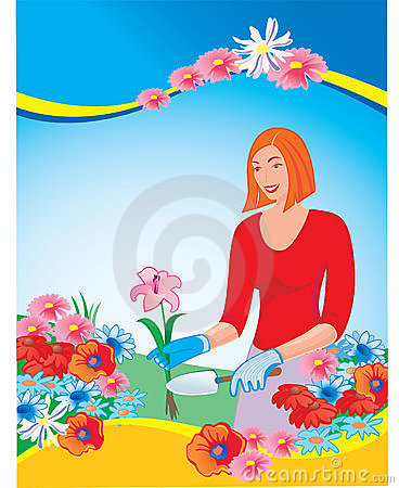 Free Florist, Stock Photo - 18199780