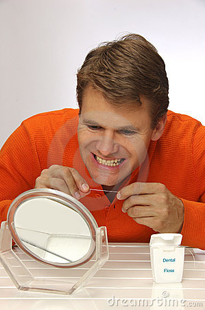 Floss for healthy teeth and gums