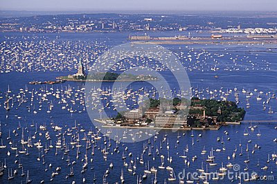 Flotilla in New York Harbor